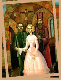 Фомченко А. Венчание Достоевского (фрагмент)