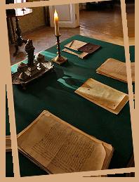 Фотография рабочего стола Ф.М.Достоевского в Санкт-Петербурге